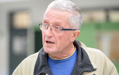 Nastavnik Franjo Dragičević (Foto: Vjeran Zganec Rogulja/PIXSELL)