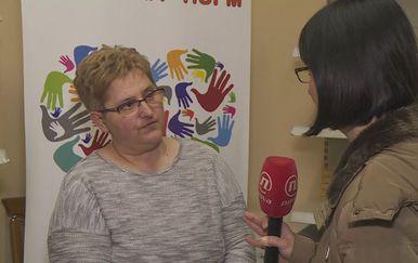 Spomenka Ivoš, predsjednica Udruge Put Mira, i Marina Bešić Đukarić (Foto: Dnevnik.hr)