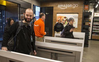 Amazon Go (Foto: AFP)