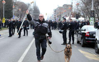 Zoran Erceg bunio se i protiv šatoraša (Foto: Robert Anić/Pixsell)