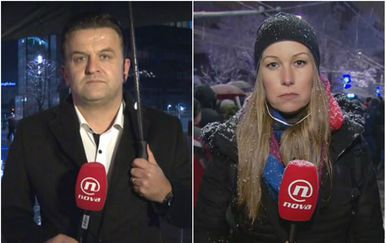 Andrija Jarak i Barbara Štrbac (Foto: Dnevnik.hr)