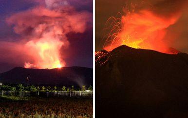 Vulkani Soputan i Popocatepetl (Foto: AFP)