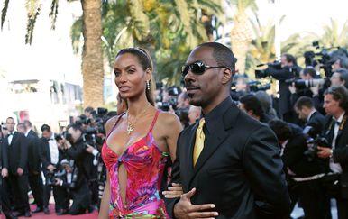 Nicole i Eddie Murphy (Foto: AFP)