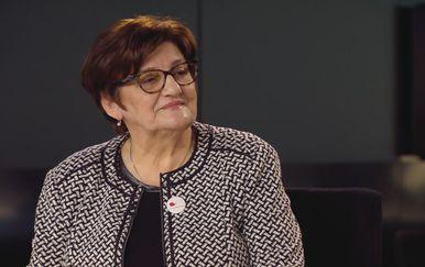 Marija Rukavina, upraviteljica Zaklade Ana Rukavina, u Dnevniku Nove TV (Foto: Dnevnik.hr) - 2