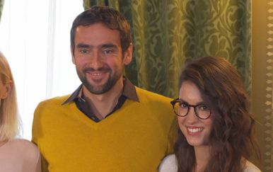 Marin i Kristina Čilić (Foto: Dnevnik.hr)