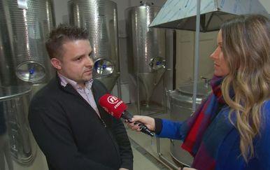 Poduzetnik Marko Barčan i Barbara Štrbac (Foto: Dnevnik.hr)