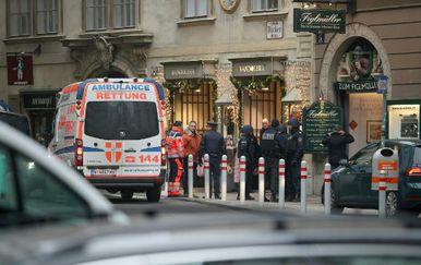 Pucnjava u Beču (Foto: AFP)