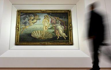 Sandro Botticelli \'\'Rođenje Venere\'\' (Foto: AFP)