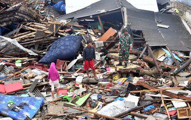 Indonezija, tsunami (Foto: Adek BERRY / AFP)