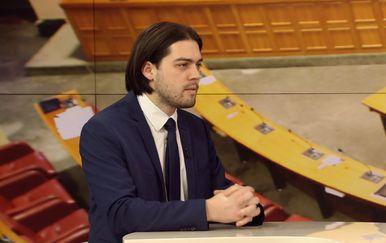 Vilibor Sinčić gostuje u Dnevniku Nove TV (Foto: Dnevnik.hr) - 1