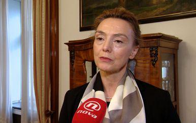 Ministrica vanjskih i europskih poslova Marija Pejčenović Burić (Foto: Dnevnik.hr)