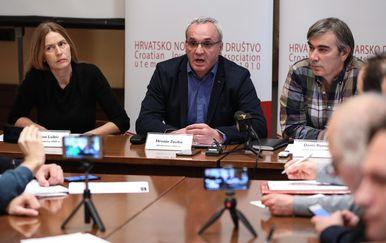 Konferencija za novinare HND-a (Foto: Jurica Galoic/PIXSELL)