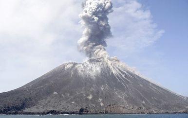 Anak Krakatau (Foto: AFP)
