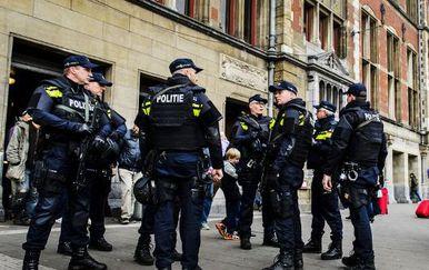 Nizozemska policija (Foto: AFP)