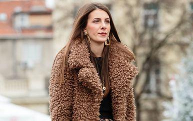 Dama iz Zagreba u zimskoj street style kombinaciji