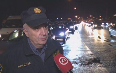 Miron Huljak iz Službe za sigurnost cestovnog prometa