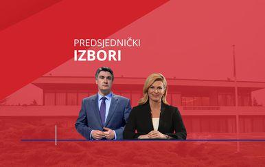Zoran Milanović i Kolinda Grabar-Kitarović (Foto: Dnevnik.hr)