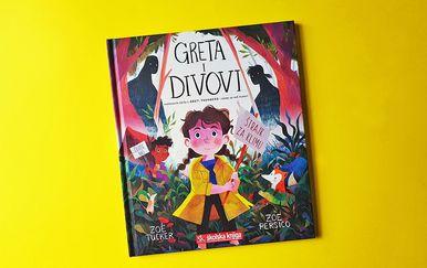 Slikovnica Greta i divovi stigla je u hrvatske knjižare