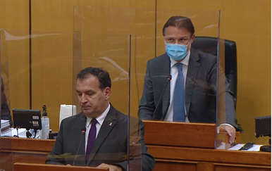 Vili Beroš i Gordan Jandroković