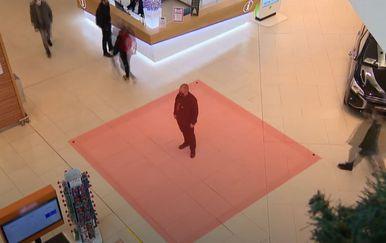 Nove mjere u centrima - Jedan čovjek na 16 kvadrata