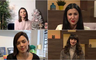 Marija Miholjek, Ana Rucner, Mia Dimšić, i Lu Jakelić