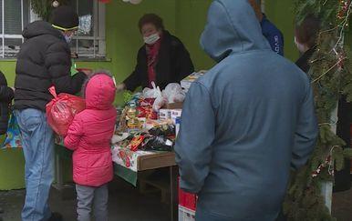Podjela hrane u Osijeku - 1