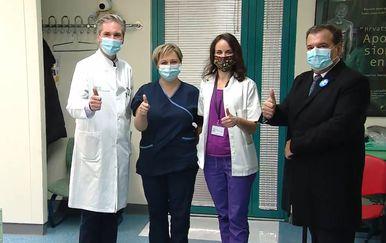 Cijepljenje u KB Dubrava