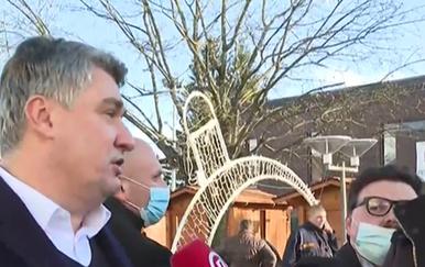 Milanović u Petrinji