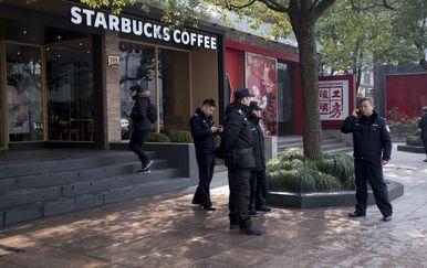 Kombi se zabio u pješake u Šangaju (Foto: AFP)