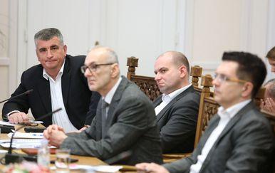 Sjednica saborskog Odbora za Ustav (Foto: Pixell)