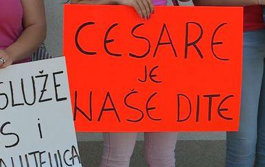 Podrška dječaku Cesareu (Foto: Dnevnik.hr)