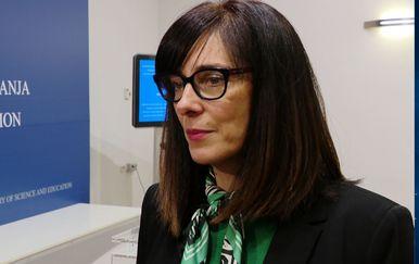 Ministrica Blaženka Divjak (Foto: Dnevnik.hr)