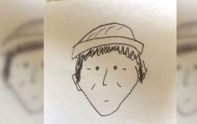 Ovaj je jednostavni crtež doista pomogao policiji da zaključi tko je počinio zločin (FOTO: Lancaster Crimewatch)