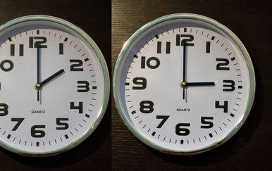 Pomicanje sata (Foto: Davor Puklavec/PIXSELL)
