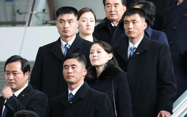Dolazak Kim Yo Jong u Južnu Koreju (Foto: AFP)