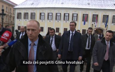 Miro Bulj dobacivao Aleksandru Vučiću (Foto: Dnevnik.hr)