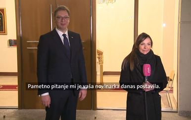 Vučić o Ivani Petrović (Foto: Dnevnik.hr)