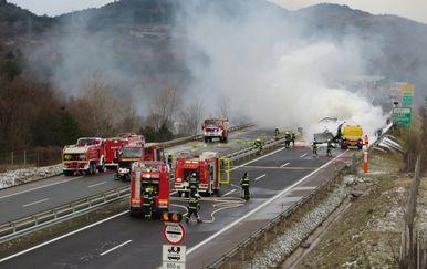 Nesreća u Sloveniji (Foto: DARS/Twitter)