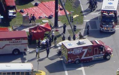 Pucnjava na Floridi (Screnshot AFP)