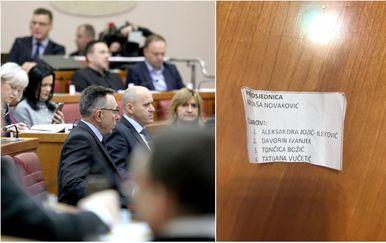 Šalabahter za saborske zastupnike (Foto: Patrik Macek/PIXSELL/screenshot)
