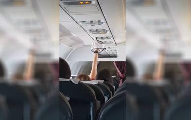 Jeste li ikad letjeli uz ovakvu suputnicu? (FOTO: YouTube/Screenshot)