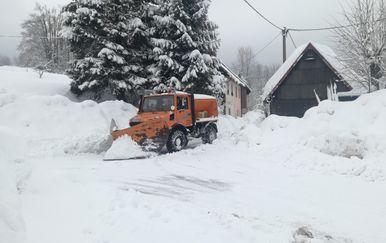 Snijeg u Gorskom kotaru (Foto: Dnevnik.hr)