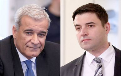 Ante Ramljak i Davor Bernardić (Foto: Pixsell)