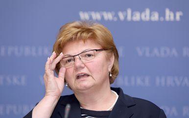 Ministrica Nada Murganić (Foto: Pixell)