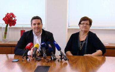 Marin Pucar i Marica Vidaković (Foto: Dnevnik.hr)