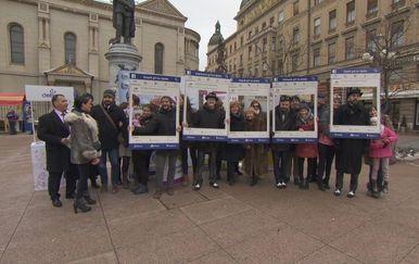 Zagrljaji za ljude s rijetkim bolestima (Foto: Dnevnik.hr)