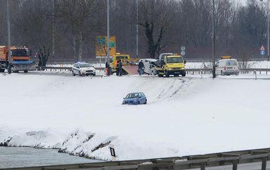 Prometna nesreća kod Zaprešića (Foto: Marko Prpic/PIXSELL)