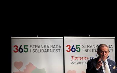 Milan Bandić (Foto: Slavko Midzor/PIXSELL)