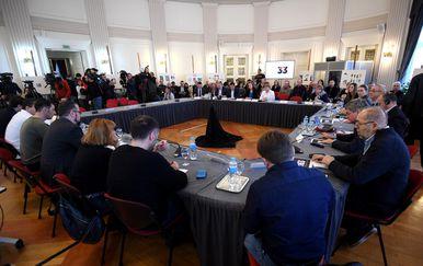 Održan okrugli stol Novinarstvo pred sudom (Foto: Marko Lukunić/PIXSELL)