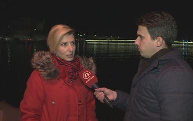 Izv. prof. Marina Nekić s Odjela za psihologiju Sveučilišta u Zadru i Šime Vičević (Foto: Dnevnik.hr)